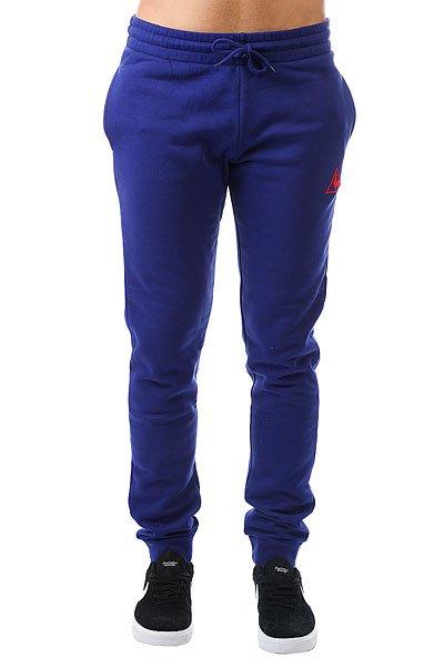 Штаны спортивные Le Coq Sportif Pant Bar Slim Brushed Ultra Blue<br><br>Цвет: синий<br>Тип: Штаны спортивные<br>Возраст: Взрослый<br>Пол: Мужской