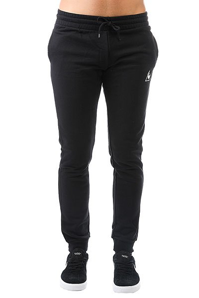 Штаны спортивные Le Coq Sportif Pant Bar Slim Unbr Black<br><br>Цвет: черный<br>Тип: Штаны спортивные<br>Возраст: Взрослый<br>Пол: Мужской