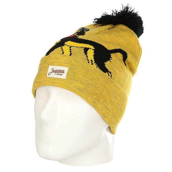 Шапка Запорожец Big Doggy Yellow Melange<br><br>Цвет: желтый<br>Тип: Шапка<br>Возраст: Взрослый<br>Пол: Мужской
