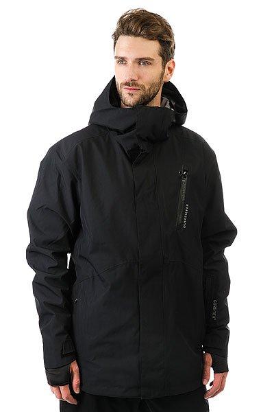 Куртка Quiksilver Forever BlackКуртка Forever из коллекции Highline - это максимально водонепроницаемая одежда, которая будет держать Вас в тепле и сухости день за днем, на любой вершине.Технические характеристики: Мембрана 2L GORE-TEX®.Шелл.Подкладка из тафты и сетки с трикотажными вставками с начесом.Полностью проклеенные швы.Вентиляционные молнии с подкладкой из сетки.Внутренние эластичные манжеты из лайкры с отверстием для пальца.Регулируемый капюшон.Водостойкие молнии YKK® Aquaguard®.Нагрудный карман на молнии и карманы для рук.Внутренний карман для маски.Медиа карман, скипасс карман.Ткань для протирки фильтра маски внутри одного из карманов.Фиксированная снежная юбка из тафты с добавлением лайкры.Система пристегивания куртки к штанам.Брелок для ключей.<br><br>Цвет: черный<br>Тип: Куртка утепленная<br>Возраст: Взрослый<br>Пол: Мужской