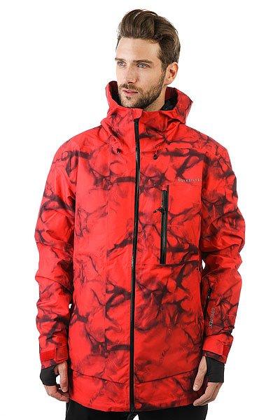 Куртка Quiksilver Impact Print Highdye RedКуртка Impact из коллекции Highline - это максимально водонепроницаемая одежда, которая будет держать Вас в тепле и сухости день за днем, на любой вершине.Технические характеристики: Мембрана 2L GORE-TEX®.Утеплитель PrimaLoft® Silver (тело 60 г, рукава и капюшон 40 г).Подкладка из тисненой тафты и трикотажа с начесом.Полностью проклеенные швы.Вентиляционные отверстия на молнии с подкладкой из сетки.Три способа регулировки капюшона со стопперами Cohaesive™.Внутренние эластичные манжеты с отверстием для пальца.Внутренний карман для маски, медиа карман, скипасс карман.Ткань для протирки фильтра маски внутри одного из карманов.Вшитая снежная юбка из синтетической тафты с лайкровой вставкой.Система пристегивания куртки к штанам.Брелок для ключей.Водонепроницаемые молнии YKK® Aquaguard®.Приталенный крой.Принт Tie-Dye.<br><br>Цвет: красный,черный<br>Тип: Куртка утепленная<br>Возраст: Взрослый<br>Пол: Мужской