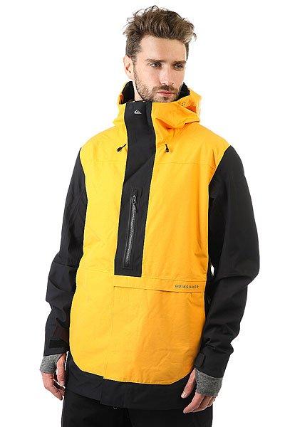 Куртка Quiksilver Tr Exhibition Cadmium YellowИскусство полета, искусство экипировки, искусство стиля: если Трэвису Райсу предстоит высадиться с вертолета на острый горный гребень Аляски, можете не сомневаться, на нем будет катальная одежда Highline. Коллекция Highline представлена верхними моделями и высшими технологиями водонепроницаемости из доступных сегодня. В такой одежде тепло и сухо день за днем, неделю за неделей, какой бы ни была погода на очередной вершине, что Вы собираетесь покорить.Технические характеристики: Мембрана 2L GORE-TEX®.Шелл.Подкладка из тафты и сетки с трикотажными вставками с начесом.Полностью проклеенные швы.Вентиляционные молнии с подкладкой из сетки.Внутренние эластичные манжеты из лайкры с отверстием для пальца.Регулируемый капюшон со стопперами Cohaesive™.Водостойкие молнии YKK® Aquaguard®.Внутренний карман для маски.Медиа карман, скипасс карман.Внутренний карман на молнии.Ткань для протирки фильтра маски внутри одного из карманов.Съемная снежная юбка из тафты с панелью из лайкры.Система пристегивания куртки к штанам.Брелок для ключей.<br><br>Цвет: черный,оранжевый<br>Тип: Куртка утепленная<br>Возраст: Взрослый<br>Пол: Мужской