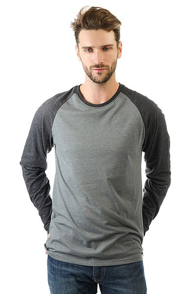 Лонгслив Billabong All Day Raglan Grey Heather