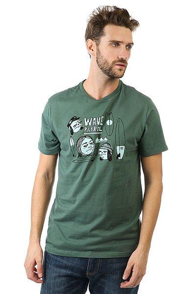 Футболка Billabong Tr - Whatever Forest<br><br>Цвет: зеленый<br>Тип: Футболка<br>Возраст: Взрослый<br>Пол: Мужской