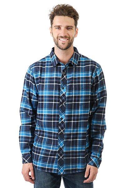 Рубашка в клетку Billabong Henderson Indigo<br><br>Цвет: синий<br>Тип: Рубашка в клетку<br>Возраст: Взрослый<br>Пол: Мужской
