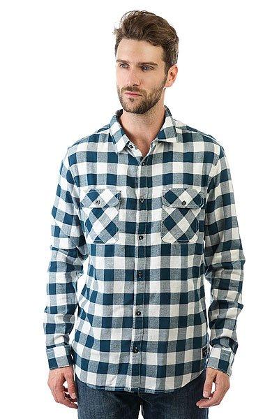 Рубашка в клетку Billabong All Day Flannel Off White