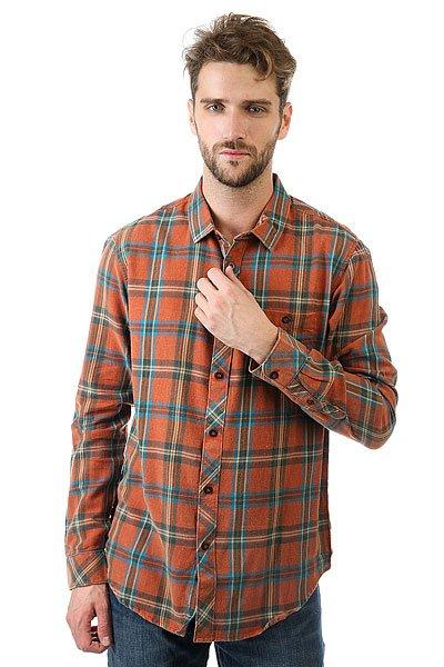 Рубашка в клетку Billabong Vantage Rust