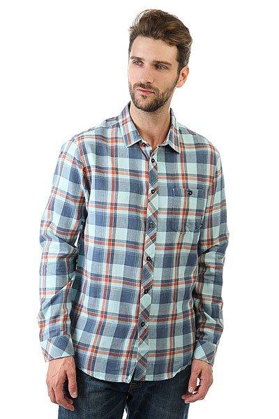 Рубашка в клетку Billabong Vantage Blue<br><br>Цвет: голубой<br>Тип: Рубашка в клетку<br>Возраст: Взрослый<br>Пол: Мужской