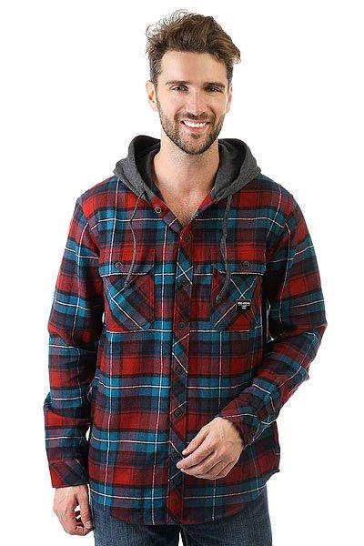 Рубашка в клетку Billabong Austin Brick<br><br>Цвет: синий,черный,серый<br>Тип: Рубашка в клетку<br>Возраст: Взрослый<br>Пол: Мужской
