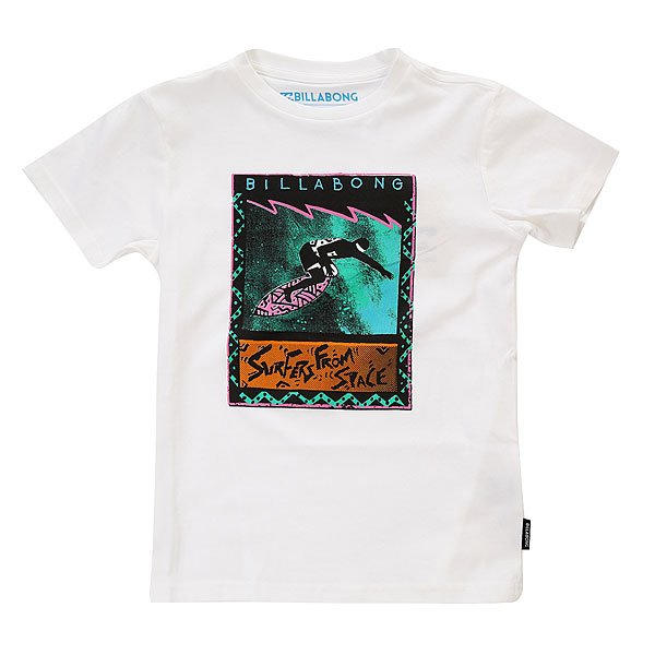 Футболка детская Billabong Surfer From Space White