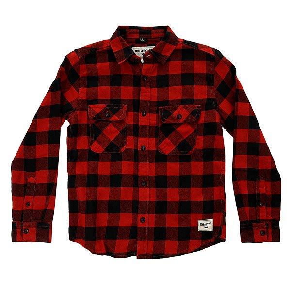 Рубашка в клетку детская Billabong All Day Flannel Brick