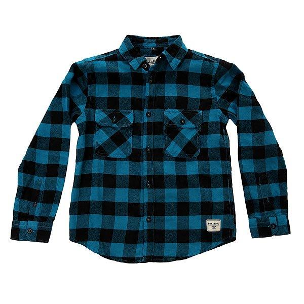 Рубашка в клетку детская Billabong All Day Flannel Ocean