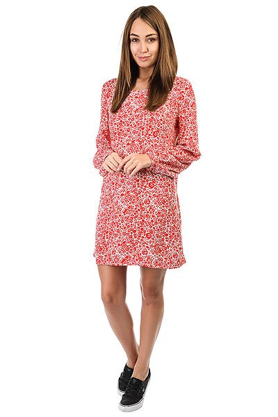 Платье женское Billabong Heart Strayed Dress Rad Red