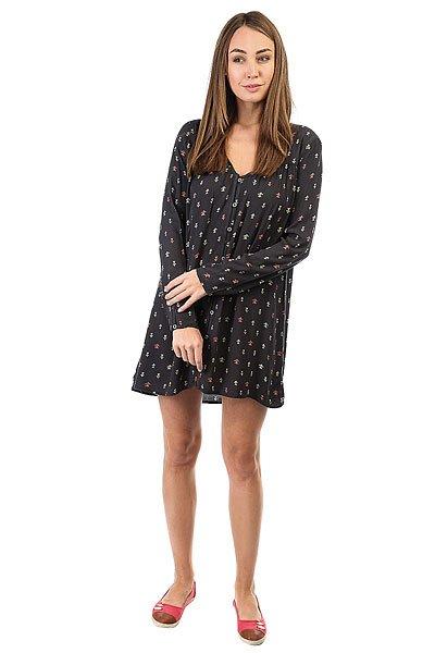 Платье женское Billabong Moongazer Dress Off Black