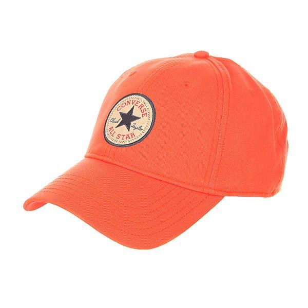 Бейсболка классическая Converse Con001 My Van Is On Fire<br><br>Цвет: оранжевый<br>Тип: Бейсболка классическая<br>Возраст: Взрослый<br>Пол: Мужской