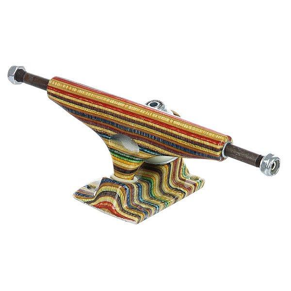 Подвеска для скейтборда 1шт. Krux Hollow Forged Yes Comply Multi 8 (27.3 см)Ширина подвесок: 8 (27.3 см)    Высота подвесок: 57 мм    Цена указана за 1 шт    Минимальное количество для заказа 2 шт<br><br>Цвет: мультиколор<br>Тип: Подвеска для скейтборда<br>Возраст: Взрослый<br>Пол: Мужской