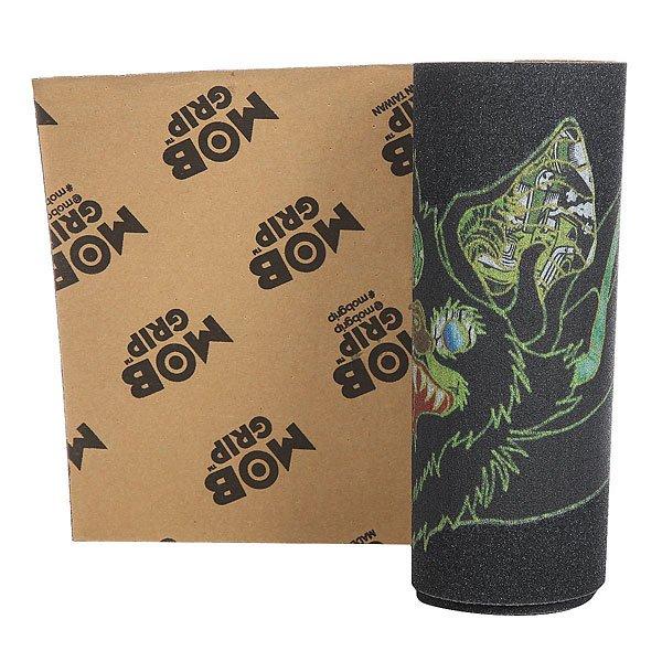 Шкурка для скейтборда для скейтборда Mob Venom Stitches Black/Green шкурка для скейтборда для скейтборда mob santa cruz black
