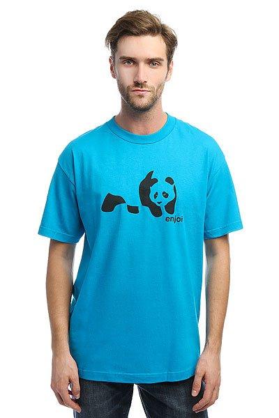 Футболка Enjoi Panda Splice Turquoise<br><br>Цвет: голубой<br>Тип: Футболка<br>Возраст: Взрослый<br>Пол: Мужской