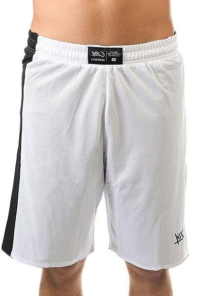 Шорты классические K1X Hardwood Reversible Game Set Shorts White/Black<br><br>Цвет: белый,черный<br>Тип: Шорты классические<br>Возраст: Взрослый<br>Пол: Мужской