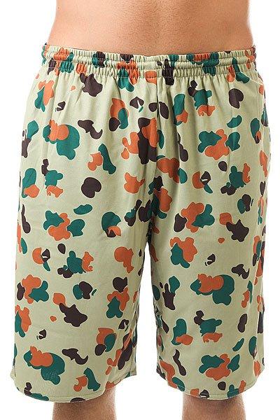 Шорты классические K1X Pacific Mesh Shorts]<br><br>Цвет: зеленый<br>Тип: Шорты классические<br>Возраст: Взрослый<br>Пол: Мужской