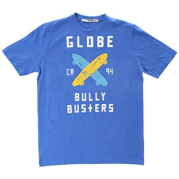 Футболка детская Globe Bullybuster Royal<br><br>Цвет: синий<br>Тип: Футболка<br>Возраст: Детский