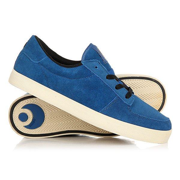 Кеды кроссовки низкие Osiris Duffel Vlc Blue/Cream/Black