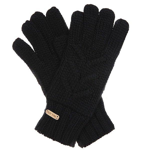 Перчатки женские Rip Curl Campana Gloves BlackХарактеристики:Канатная вязка.Кожаный бедж.Соместима с шарфом.<br><br>Цвет: черный<br>Тип: Перчатки<br>Возраст: Взрослый<br>Пол: Женский