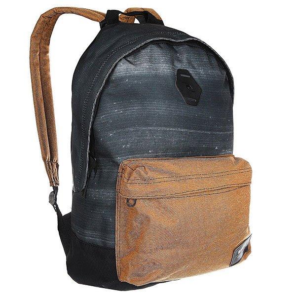 Рюкзак городской Rip Curl Stacker Dome BrownХарактеристики:Ультралегкий рюкзак для ежедневного использования.Вмещает папку формата А4.Смягченные и регулируемые плечевые ремни.Лицевой карман на молнии.Резиновая нашивка и тканный логотип.<br><br>Цвет: синий,коричневый<br>Тип: Рюкзак городской<br>Возраст: Взрослый
