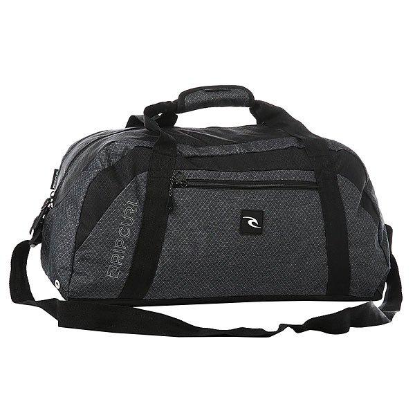 Сумка спортивная Rip Curl Heather Ripstop Reflex BlackУдобная спортивная сумка из прочной ткани Ripstop.Технические характеристики: Материал - Ripstop.Большое основное отделение на молнии.Внешний карман.Регулируемый плечевой ремень.Удобные ручки для переноски с клапаном.<br><br>Цвет: черный,синий<br>Тип: Сумка спортивная<br>Возраст: Взрослый<br>Пол: Мужской