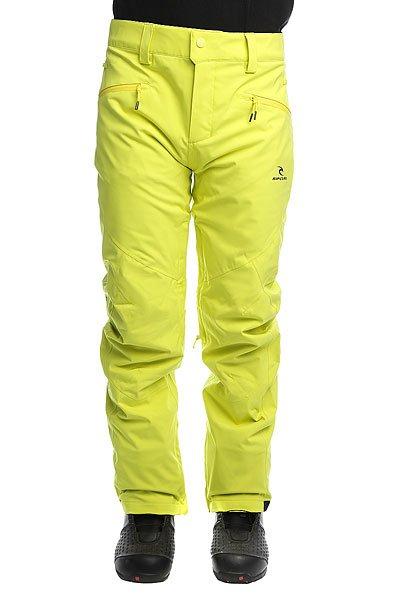 Штаны сноубордические Rip Curl Core Gum Sulphur SpringТехнические характеристики: Ткань 2-WAY STRETCH и Оксфорд.Подкладка CLIMA MAPPING.Водонепроницаемые молнии YKK.Карманы для рук.Крепление куртки к штанам.<br><br>Цвет: желтый<br>Тип: Штаны сноубордические<br>Возраст: Взрослый<br>Пол: Мужской