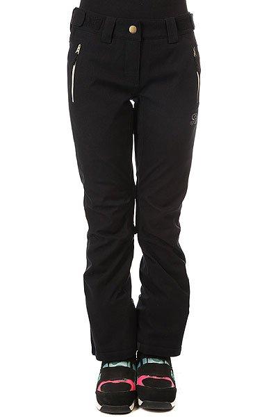 Штаны сноубордические женские Rip Curl Slinky Gum Fancy Jet Black