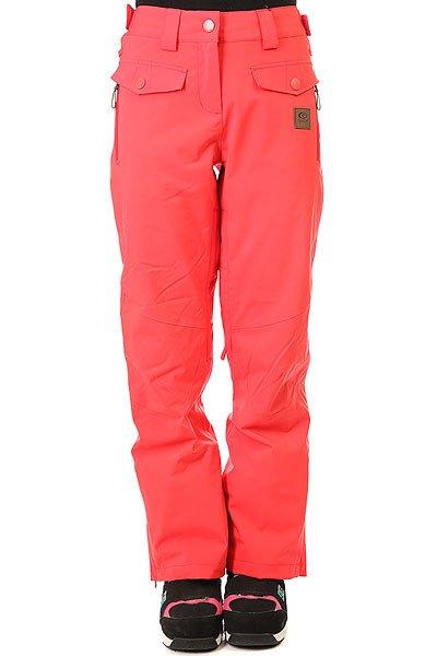 Штаны сноубордические женские Rip Curl Harmony Gum CayenneТехнические характеристики: Эластичная ткань 2-WAY STRETCH и Оксфорд.Подкладка CLIMA MAPPING.Молнии YKK.Два кармана для рук и два задних кармана.Крепление штанов к куртке.<br><br>Цвет: розовый<br>Тип: Штаны сноубордические<br>Возраст: Взрослый<br>Пол: Женский