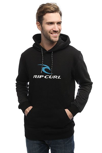 Толстовка кенгуру Rip Curl Corps Hooded Black