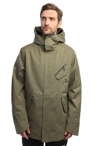 Куртка Rip Curl Nuthouse Gum Jkt Dusty OliveТехнические характеристики: Эластичная ткань 2-WAY STRETCH и Оксфорд.Подкладка CLIMA MAPPING.Эргономичные рукава.Молнии YKK, включая одну водонепроницаемую.5 внешних карманов и внутренний карман.Крепление куртки с штанам.<br><br>Цвет: зеленый<br>Тип: Куртка утепленная<br>Возраст: Взрослый<br>Пол: Мужской