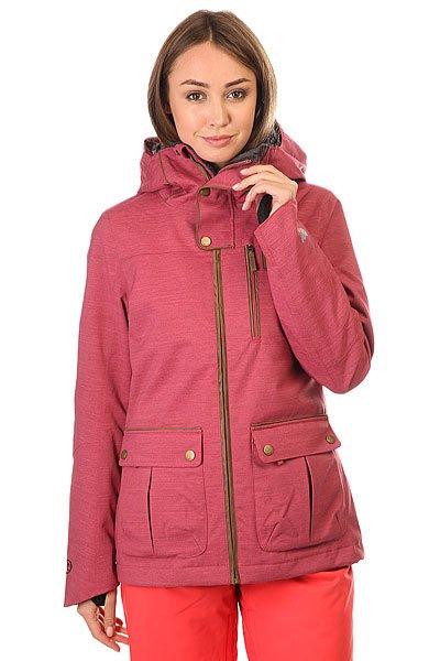 Куртка женская Rip Curl Shack Gum Jkt Dry RoseТехнические характеристики: Эластичная ткань 2-WAY STRETCH.Подкладка из искусственного меха.Эргономичные рукава.Молнии YKK.4 внешних кармана и внутренний карман.Крепление куртки с штанам.<br><br>Цвет: розовый<br>Тип: Куртка утепленная<br>Возраст: Взрослый<br>Пол: Женский