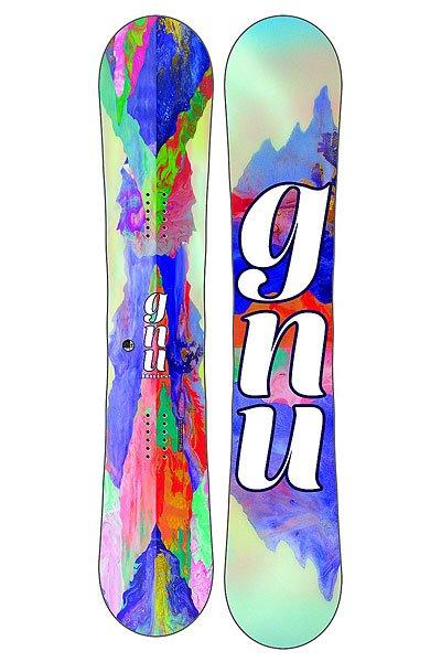 Сноуборд GNU B-nice Reflect Btx AstОтличный, легкий и вездеходный сноуборд из серии BTX создан из высококачественных компонентов для максимальной производительности и нереальной красоты. Дизайн от Kate Shaw.Технические характеристики: BANANA TECHNOLOGY - оригинальный и вседорожный гибридный прогиб rocker/camber.Технология MAGNE-TRACTION® - сноуборд отлично ведет себя на жестком снегу и на льду.Сердечник из разных сортов дерева ASPEN/COLUMBIAN GOLD.Быстрый и прочный скользяк CO-EXTRUDED.Боковины и хвост из высокомолекулярного материала UHMW.Стекловолокно BI-AX.<br><br>Цвет: мультиколор<br>Тип: Сноуборд<br>Возраст: Взрослый<br>Пол: Мужской
