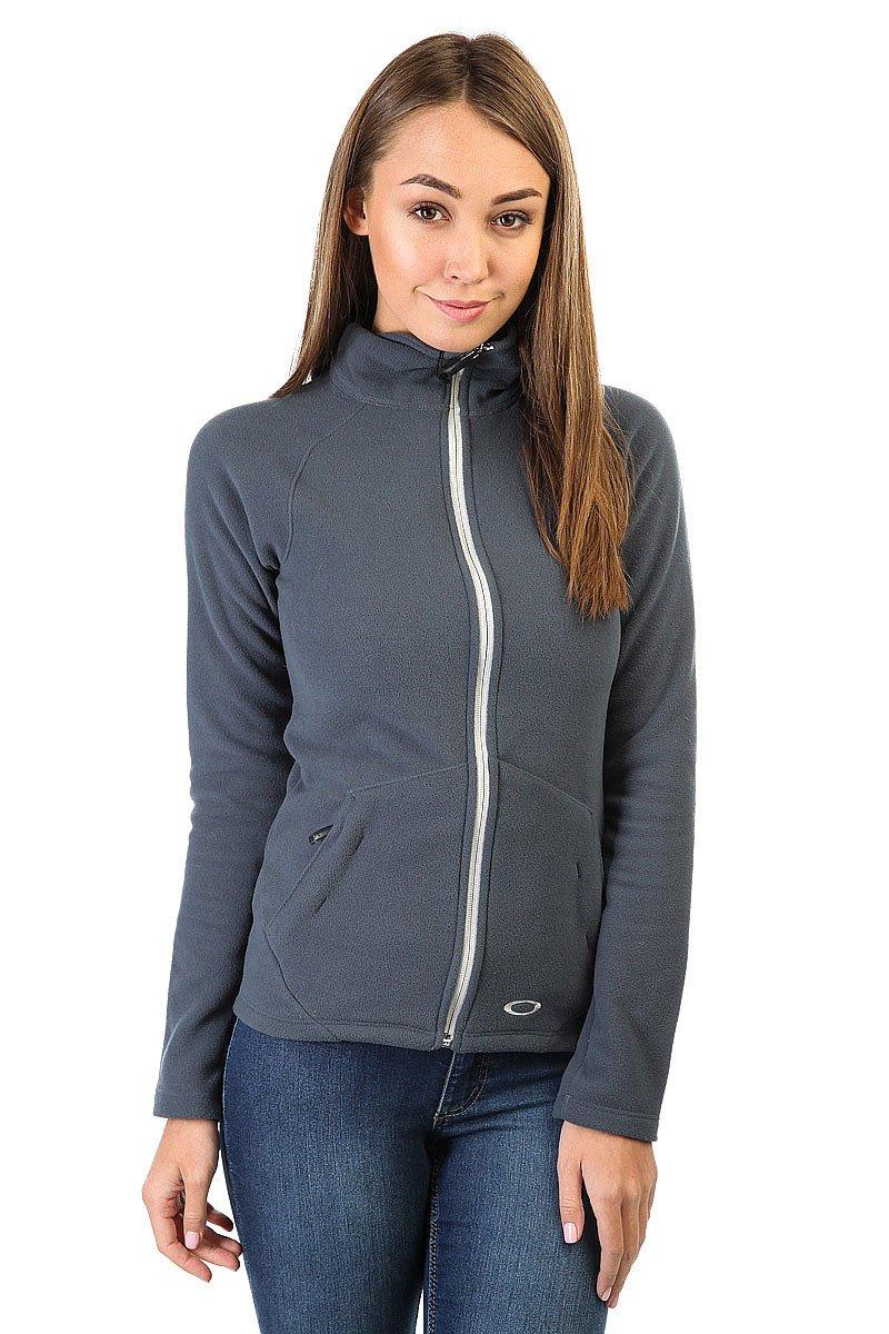Толстовка классическая женская Oakley Fit Fleece Top Ombre Blue<br><br>Цвет: синий<br>Тип: Толстовка классическая<br>Возраст: Взрослый<br>Пол: Женский