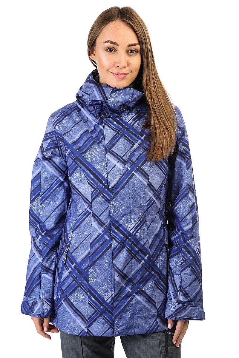Куртка женская Oakley Resilient Jacket Blue DuskКуртка Oakley Resilient Jacket предназначена для женщин. Она создана для сноубординга и лыжного спорта. Замечательно смотрится в сочетании с брюками Oakley Resilient Pants.Характеристики:Свободный крой - основные швы проклеены.Втачной (несъемный) регулируемый капюшон. Несъемная снегозащитная юбка. Вентиляция на молниях (подмышками). Регулировка манжет липучками. 2 внешних боковых кармана на молниях. Внутренний карман на молнии с выходом для наушников. Регулировка ширины низа куртки эластичным шнуром. Логотипы Oakley.<br><br>Цвет: синий<br>Тип: Куртка утепленная<br>Возраст: Взрослый<br>Пол: Женский