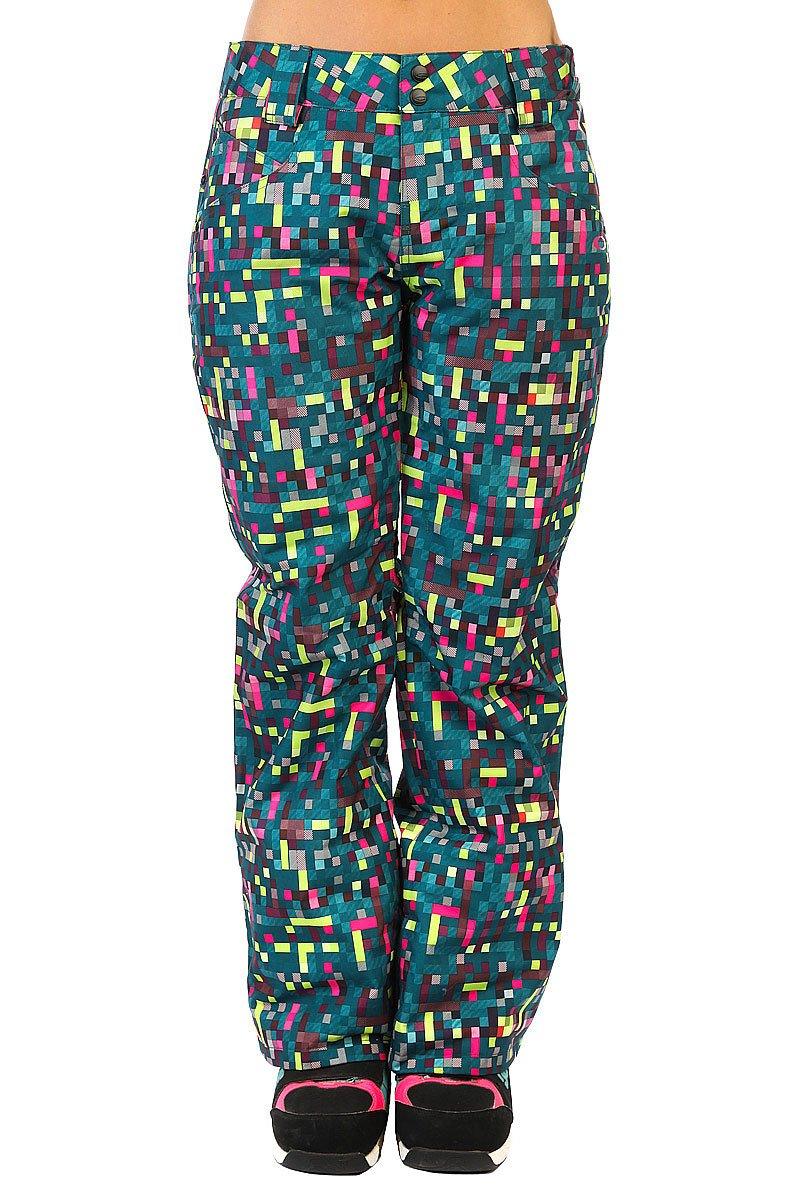 Штаны сноубордические женские Oakley Fit Insulated Pants Lightning GreenЭти штаны отличает не только неповторимый дизайн, но и высочайший уровень комфорта, достичь которого стало возможным благодаря использованию новейших материалов и технологий.Они полностью отвечают всем высочайшим профессиональным требованиям.Характеристики:Утеплитель: Thinsulate?.Силиконовая резинка для захвата и регулировки талии?.Возможность крепления снежной юбки совместимых моделей курток. Свободный покрой. Застежка на молнии. Шлевки на поясе. Два боковых кармана на молнии. Один задний карман на молнии. Сетчатые вентиляционные отверстия с внутренней стороны ноги в области бедер на молнии. Застежка на кнопке в области голени.<br><br>Цвет: мультиколор<br>Тип: Штаны сноубордические<br>Возраст: Взрослый<br>Пол: Женский