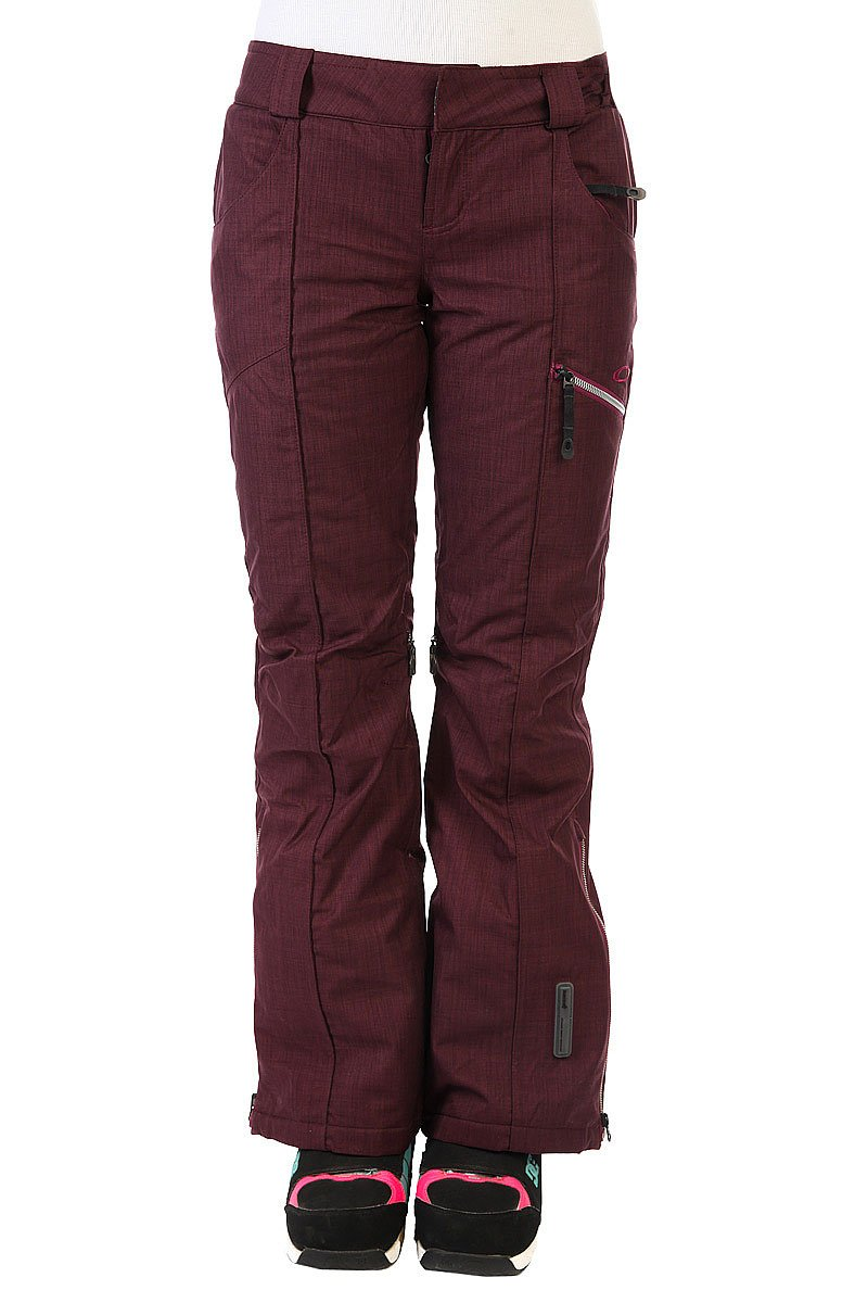 Штаны сноубордические женские Oakley Gb Insulated Pants Aubergine