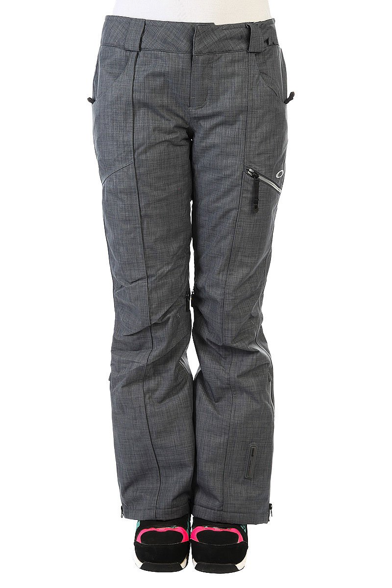 Штаны сноубордические женские Oakley Gb Insulated Pants Ombre Blue