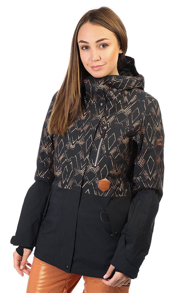 Куртка женская Billabong Rich Dip Black Toffee