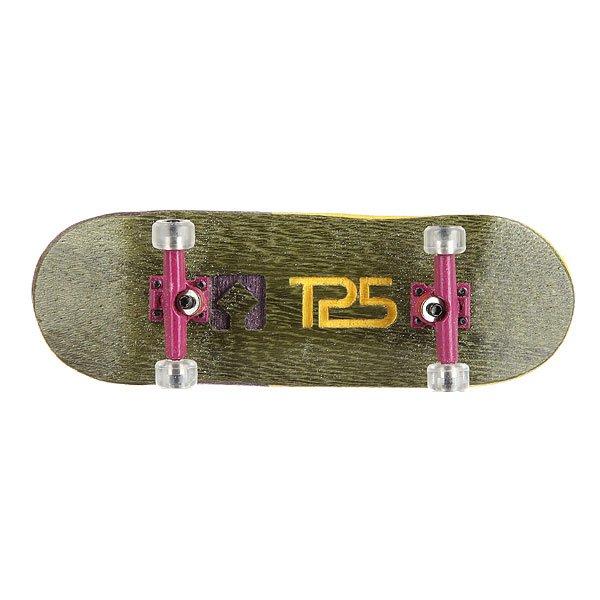 Фингерборд Turbo-FB П10 Wide 32мм  Green/Purple/Clear