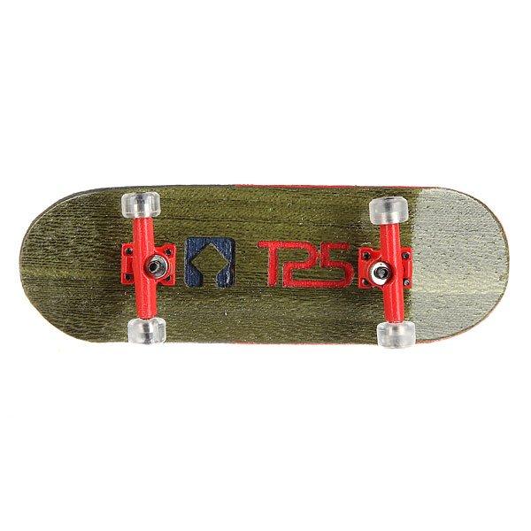 Фингерборд Turbo-FB П10 Wide 32мм  Green/Red/Clear