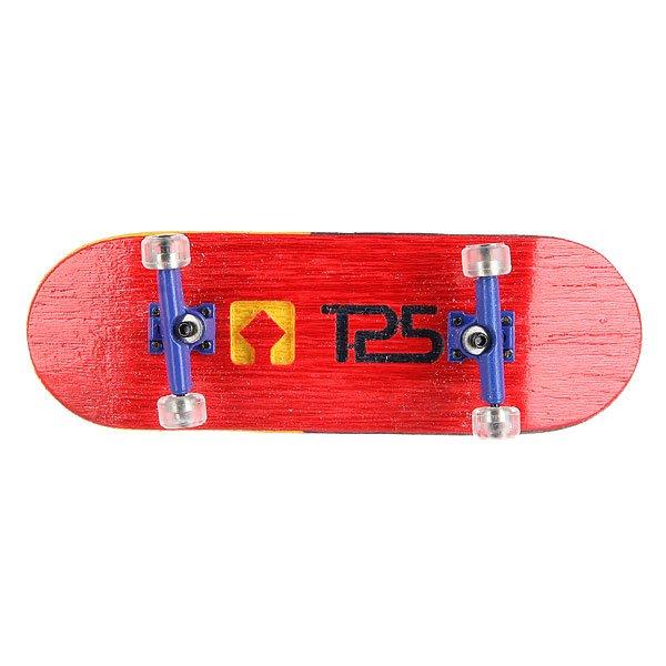 Фингерборд Turbo-FB П10 Wide 32мм  Red/Blue/Clear