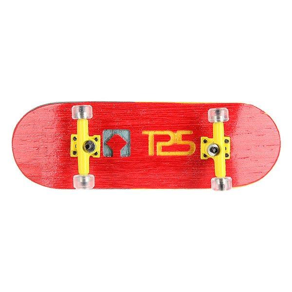 Фингерборд Turbo-FB П10 Wide 32мм  Red/Yellow/Clear