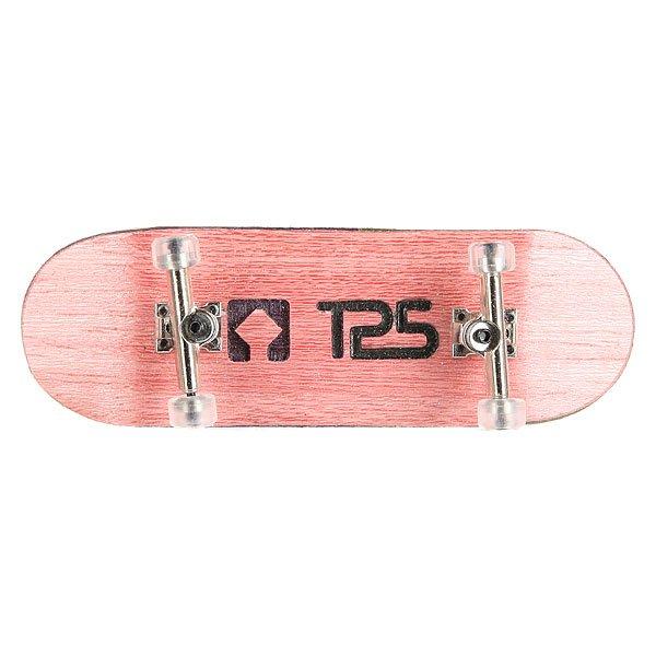 Фингерборд Turbo-FB П10 Wide 32мм Pink/Silver/Clear