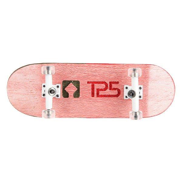 Фингерборд Turbo-FB П10 Wide 32мм  Pink/White/Clear