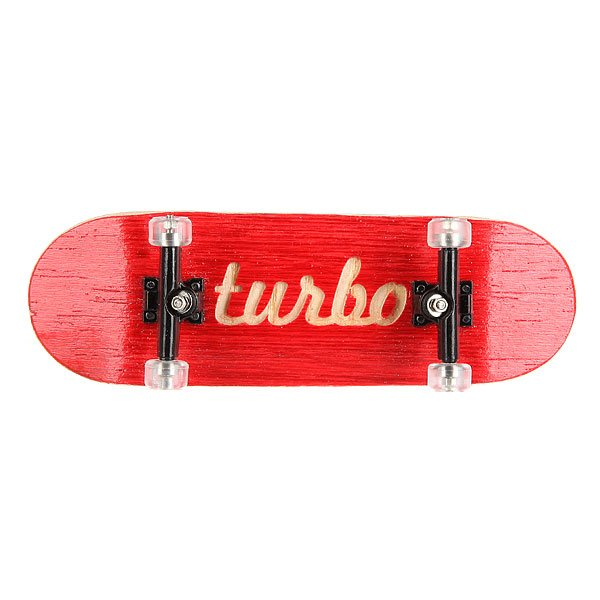 Фингерборд Turbo-FB П10 Red/Black/Clear<br><br>Цвет: белый,черный,красный<br>Тип: Фингерборд