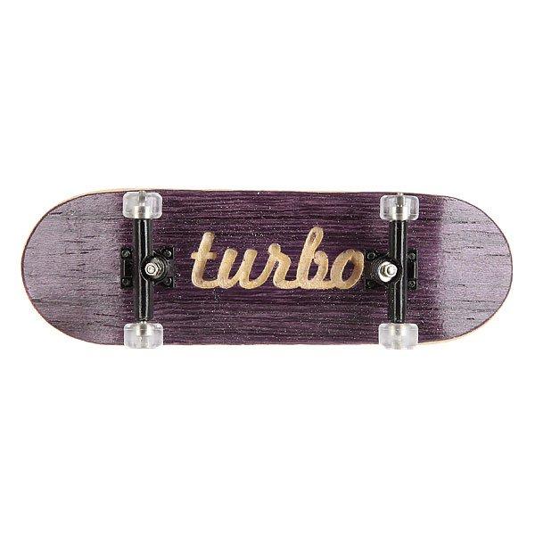 Фингерборд Turbo-FB П10 Purple/Black/Clear<br><br>Цвет: белый,черный,фиолетовый<br>Тип: Фингерборд